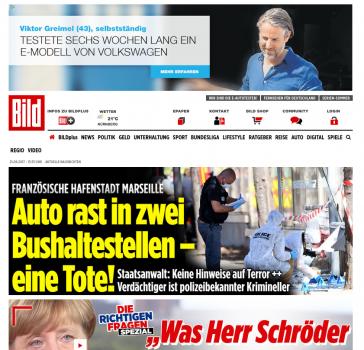 VW Tagesfestplatzierung