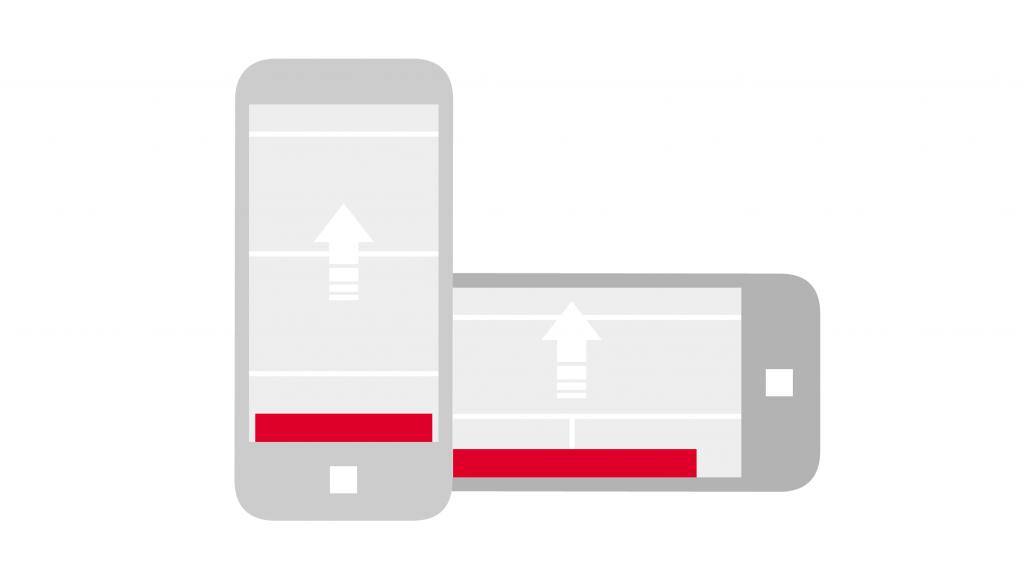 Mobile Sticky Ad TV Direkt Online Group | Media Impact