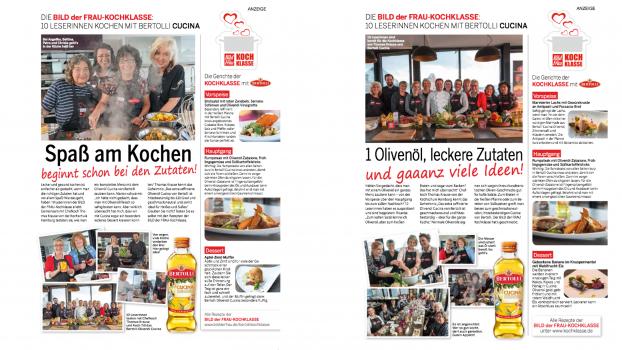 Print-Nachbericht in BILD der FRAU