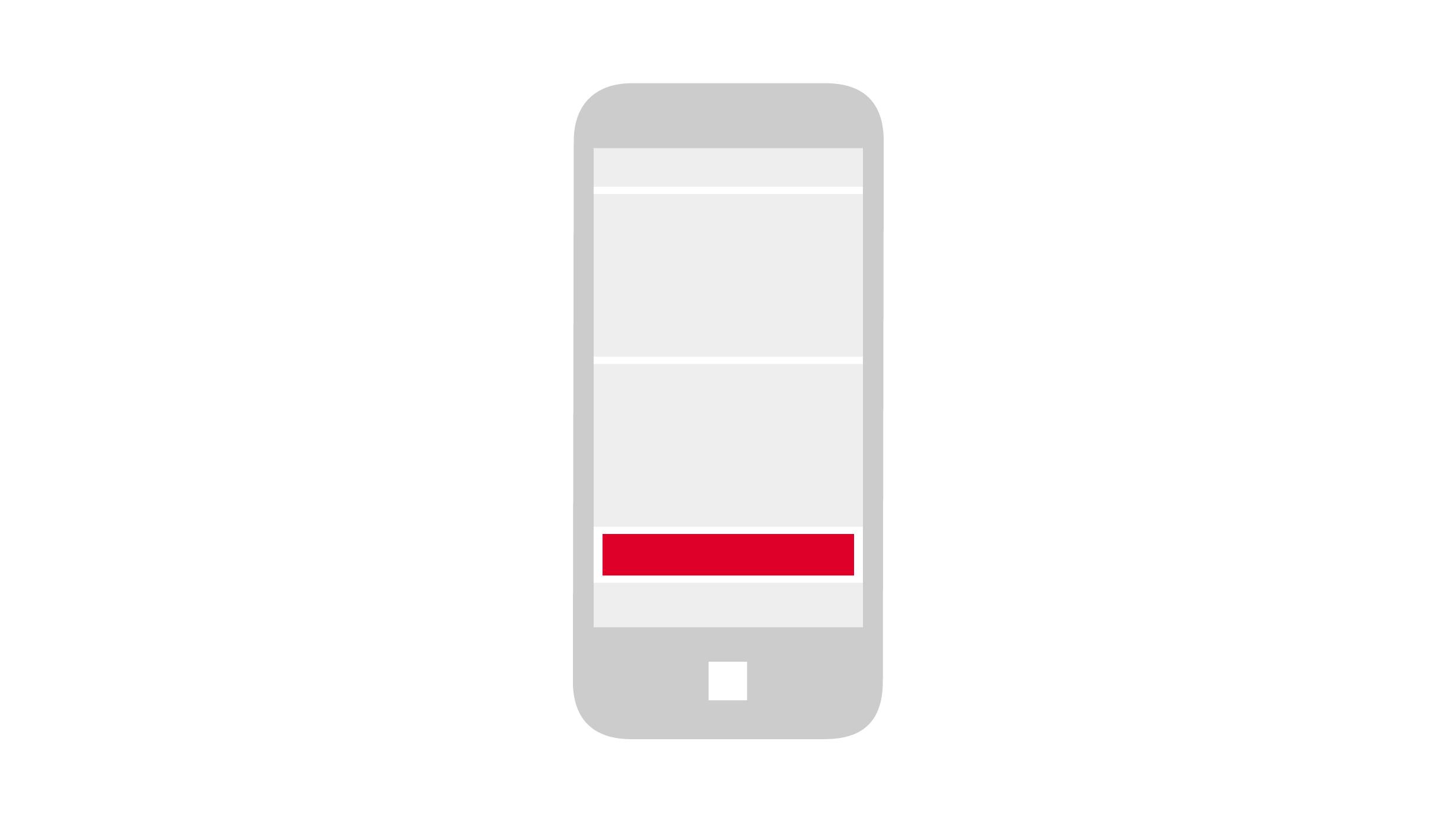 Mobile Reminder Banner Lifeline.de