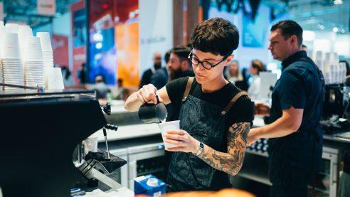 Ein besonderer Genuss war der leckere Kaffee von unseren Baristas