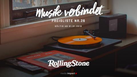 Rolling Stone Media Impact