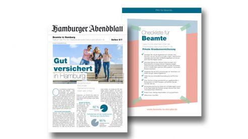 PKV Mini Zeitung – Seite 1+8