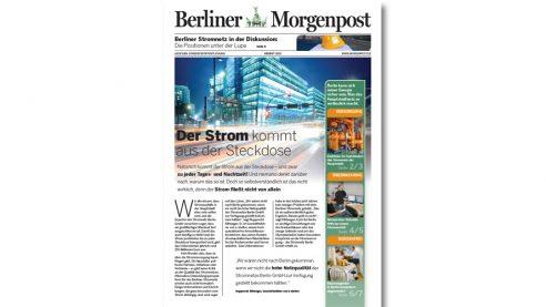 Mini Zeitung – Case Vattenfall, Berliner Morgenpost