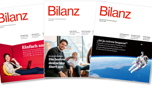 BILANZ Cover-Fächer