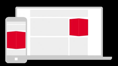 Multiscreen Cube Ad