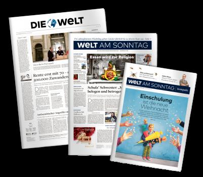 WELT Zeitung Pack-Shot Neu