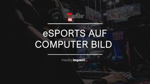 Erreichen Sie die sehr interessante Zielgruppe der eSportler - auf dem neuen computerbild.de-eSport-Channel